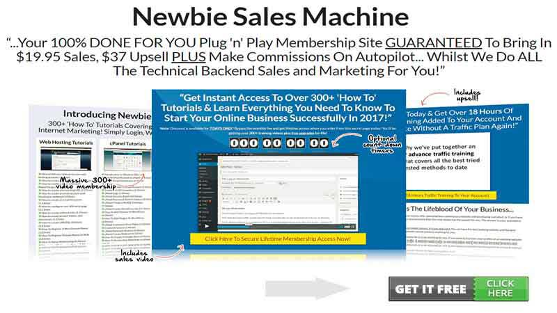 Newbie Sales Machine Review